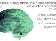 Clase magistral de masterización de audio experimental. ¡Nueva edición!